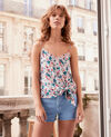 Silk cami Summer bloom rosebud Fraction