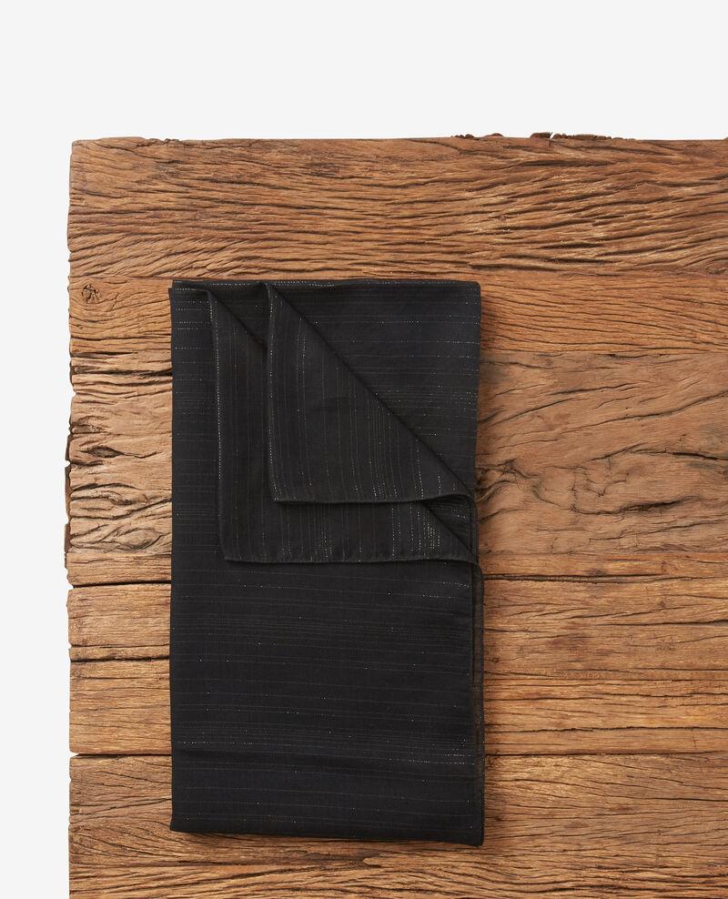 Scarf with lurex details Noir Doffrir