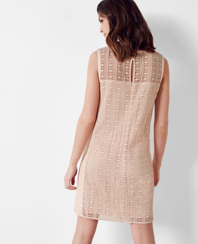 Lace dress Nude Clematite
