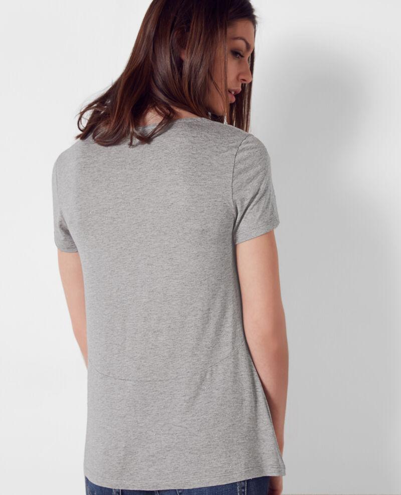 Sparkling T-Shirt Gris chine Cygne