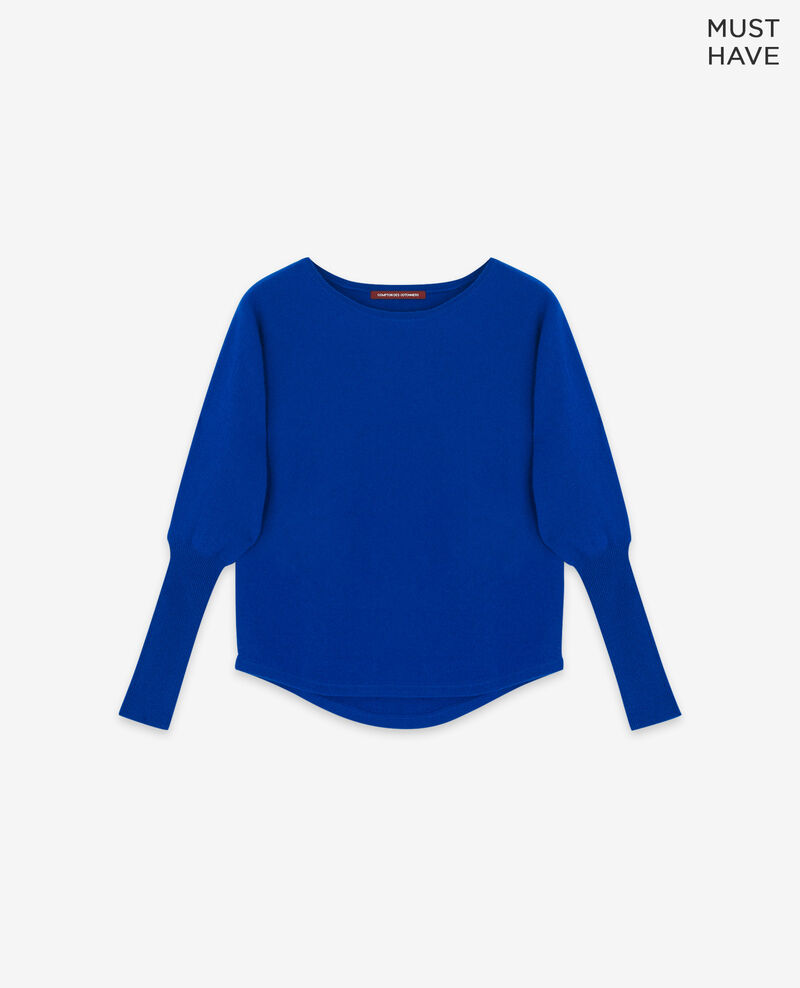 100% cashmere jumper Sapphire Delamour
