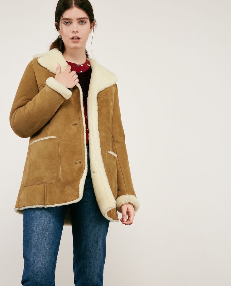 Sheepskin coat Chamois Dolotto