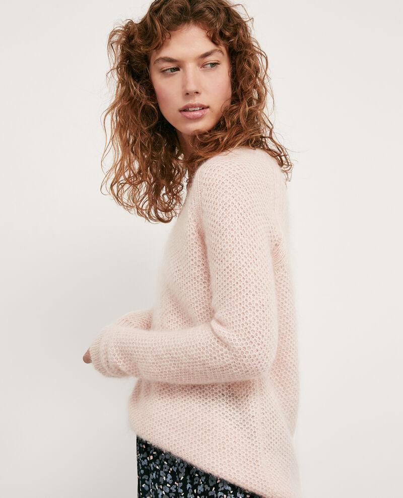 Mohair jumper Marshmallow/off white Dahbia