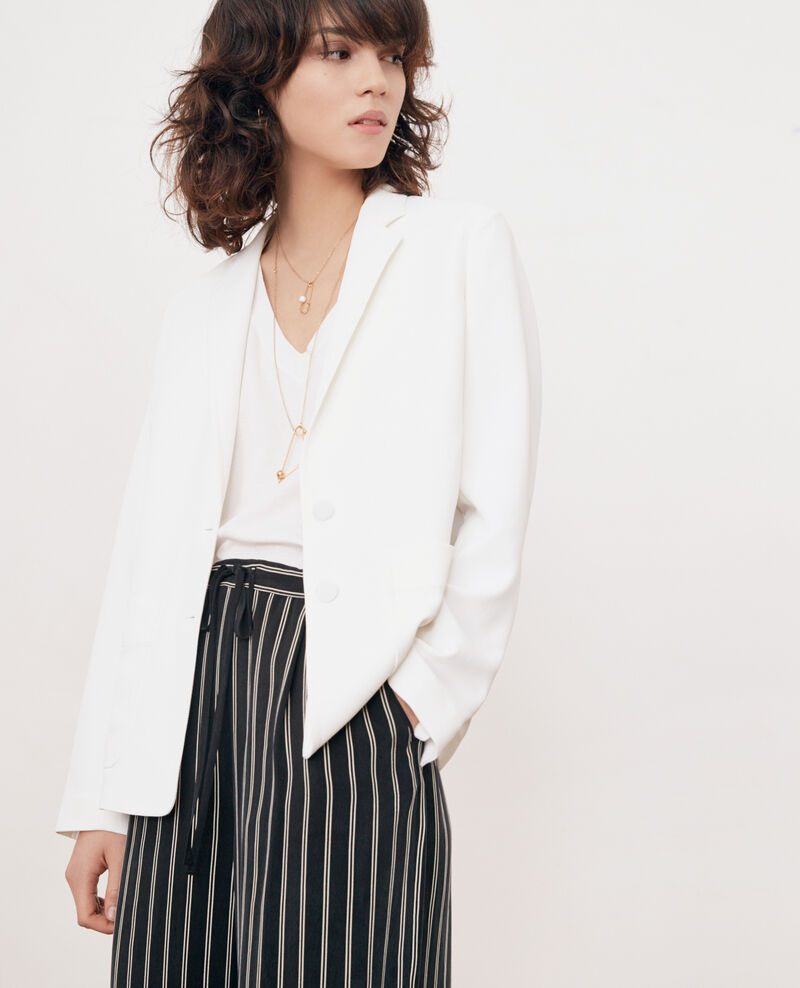 Crepe jacket BLANC