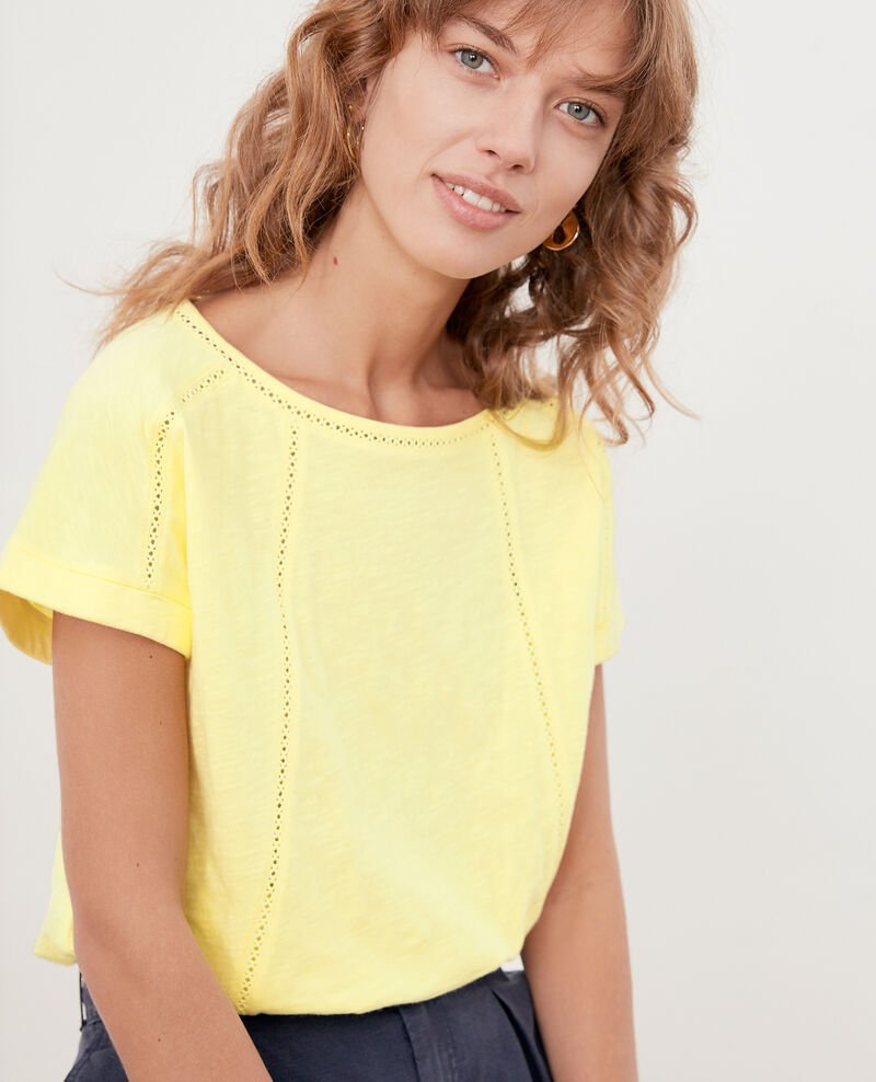 T-shirt with braid LEMONADE