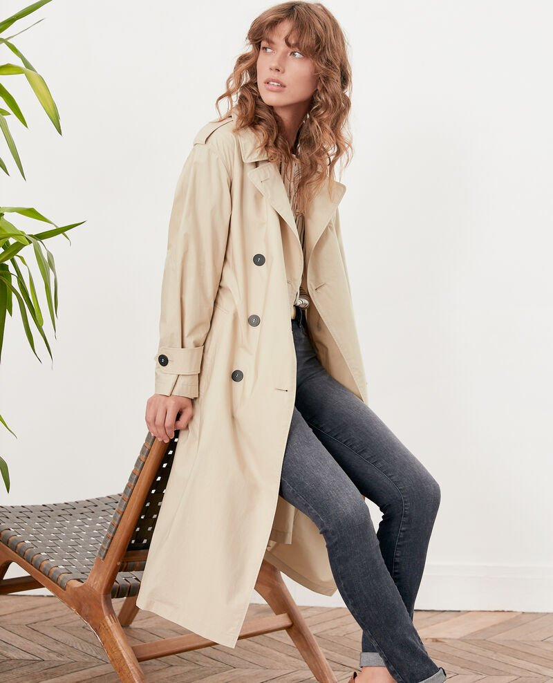 Light trench coat TAN