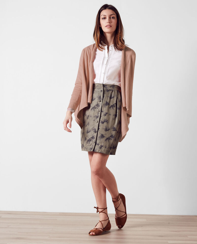 Open cardigan with cashmere Nude 9auguste