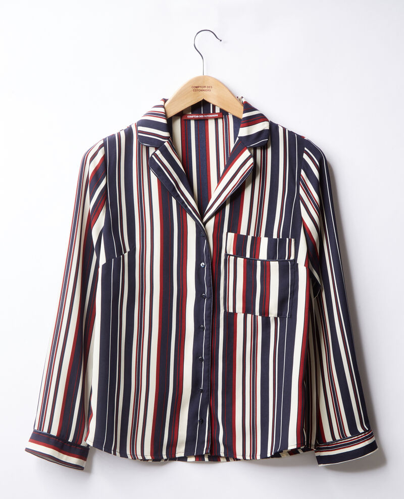 Striped shirt Stripes marine/devil Dorice