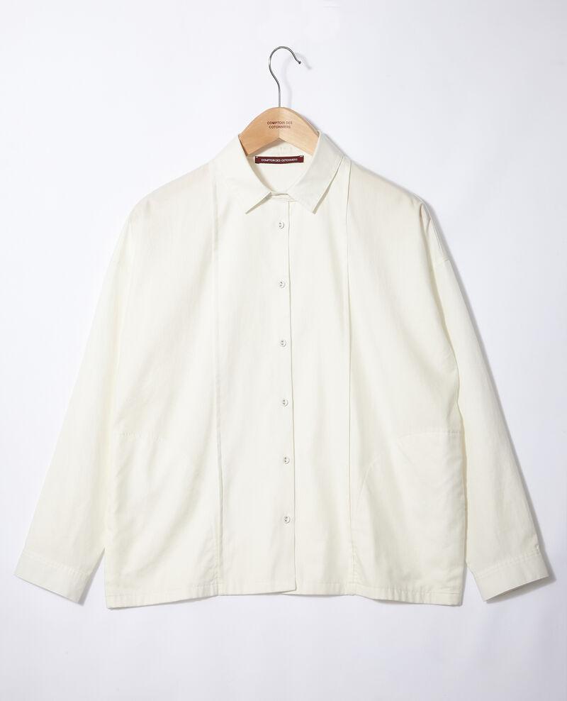 Straight-cut shirt Off white Gorani