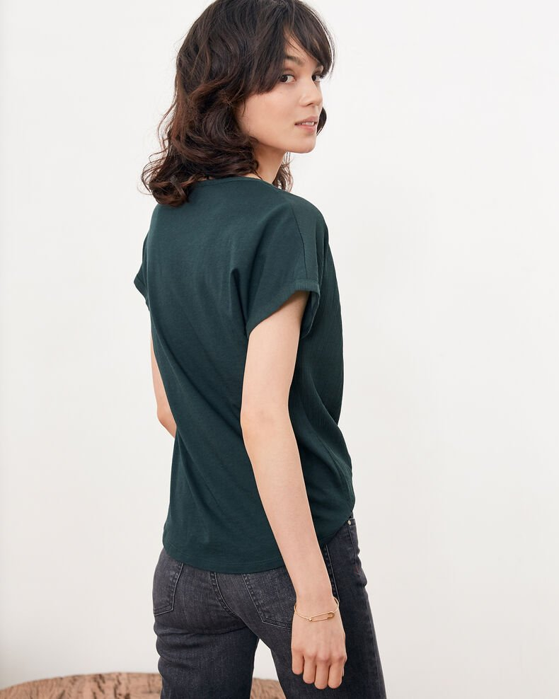 Bimaterial T-shirt Canopy Fara