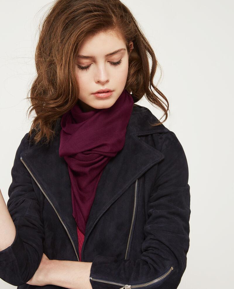 Transparent scarf Purple Deja