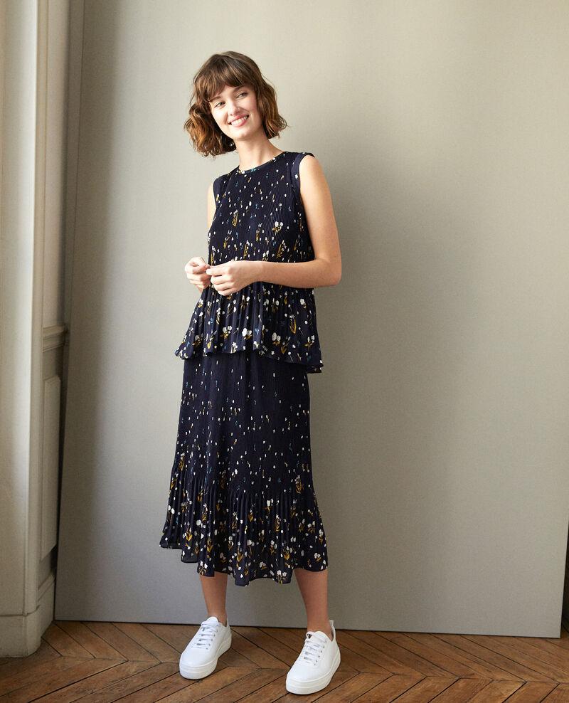 Pleated skirt SWEET MEADOW PEACOAT