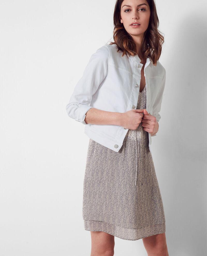 Short denim jacket Blanc Centaine
