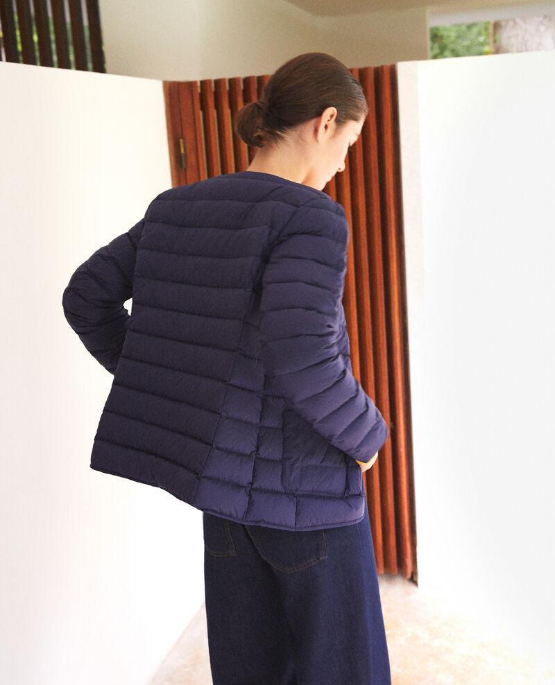 Mademoiselle Plume down jacket Medieval blue/harbor blue Gallipi