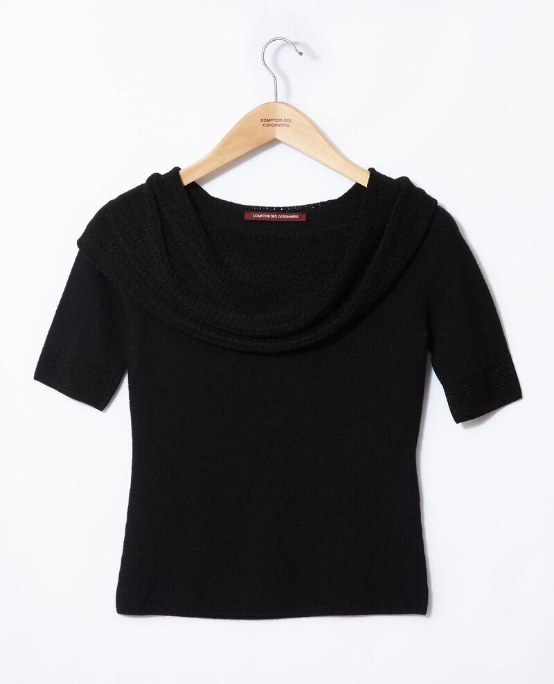 Wholegarment jumper  Noir Giris