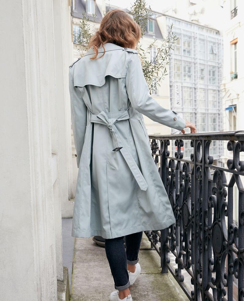 Iconic fit Trench coat Silvergreen Fadja