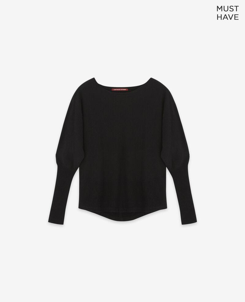 100% cashmere jumper Noir Delamour