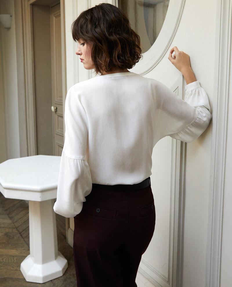 V-neck blouse Off white Gaucelin