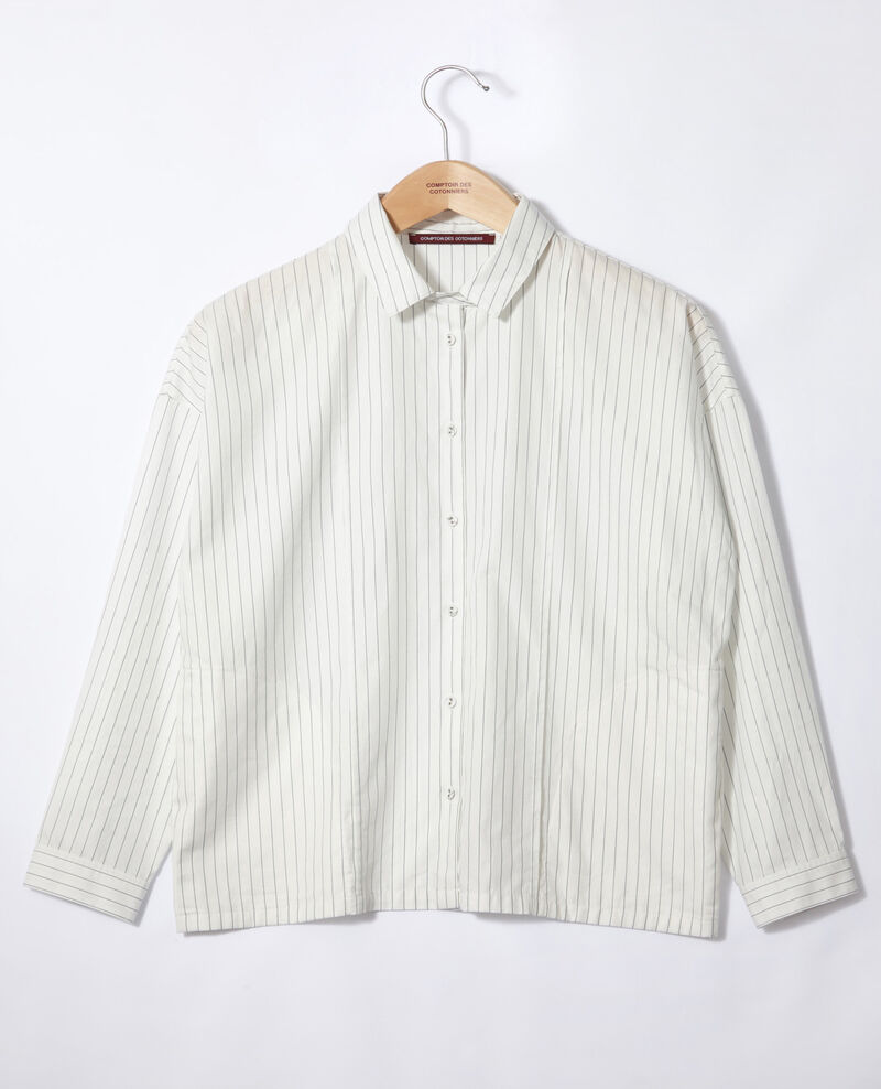 Straight-cut shirt Off white Goran