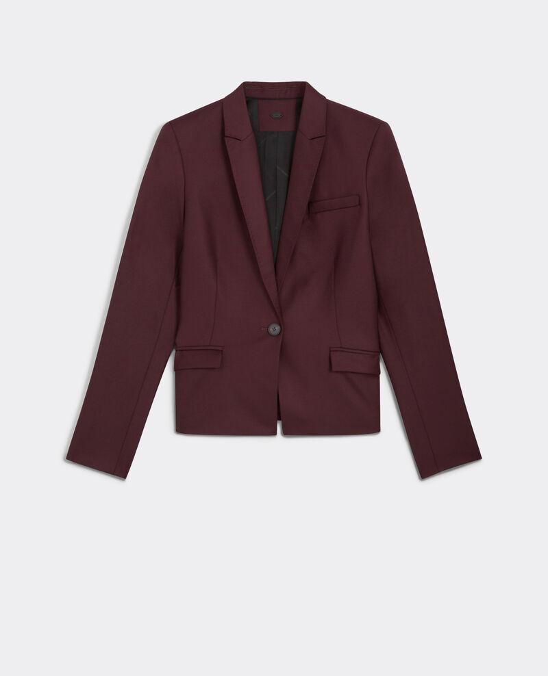Wool blazer Maroon Beli