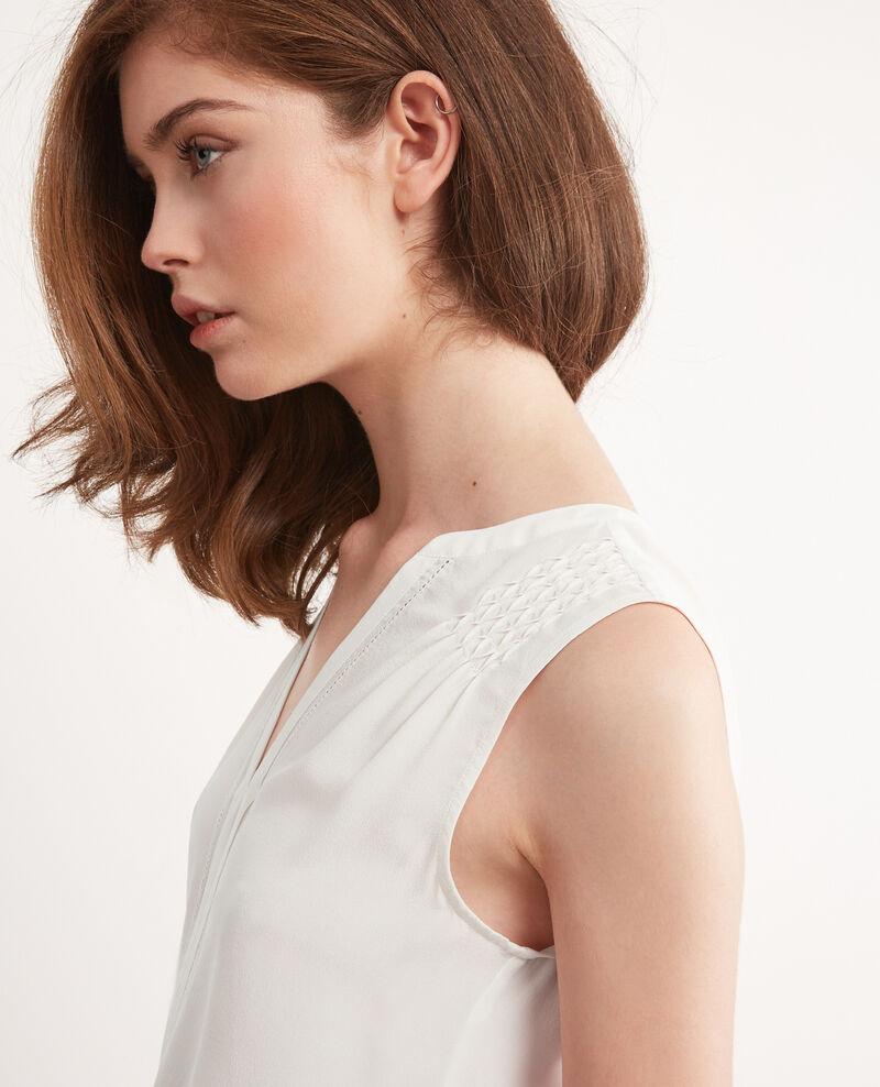 Silk top Off white Canomi