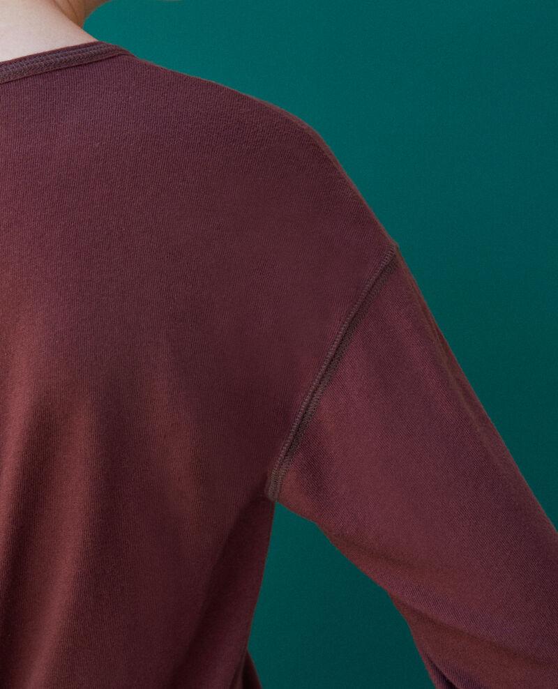 Cotton T-shirt Decadente chocolate Gonia