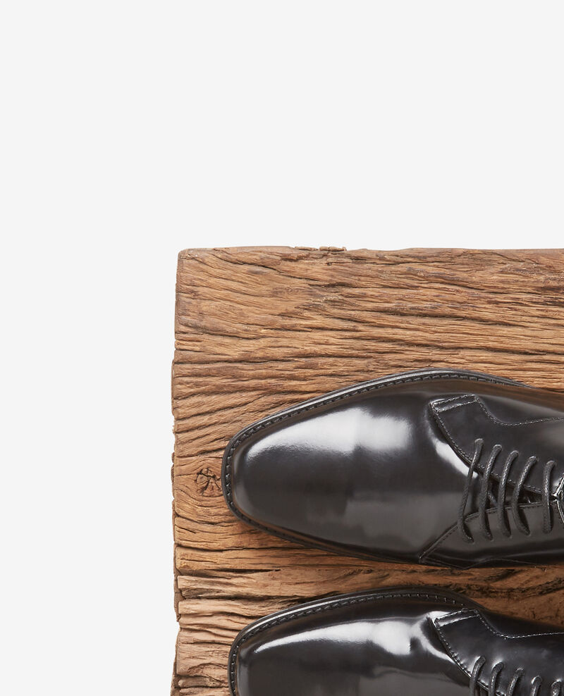 Leather derbies Noir Daumesnil