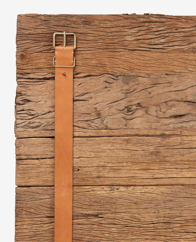 Leather belt Cognac Faban