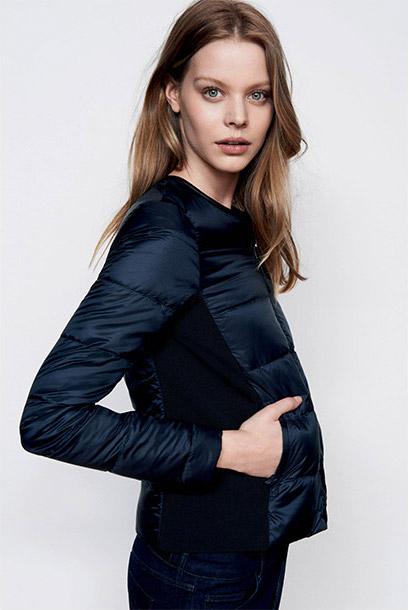 Women look - Mademoiselle Plume down jacket