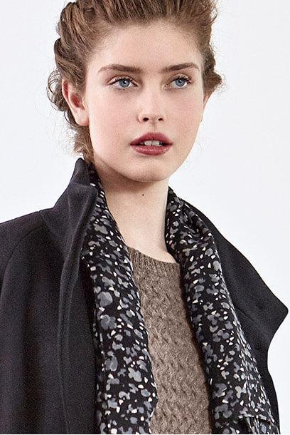 Look femme - robe en soie et bottines