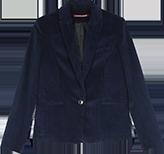 Veste tailleur en velours