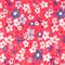 Printed scarf Honolulu ultra pink Fhono
