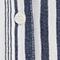 Striped shirt Indigo/white Crepon