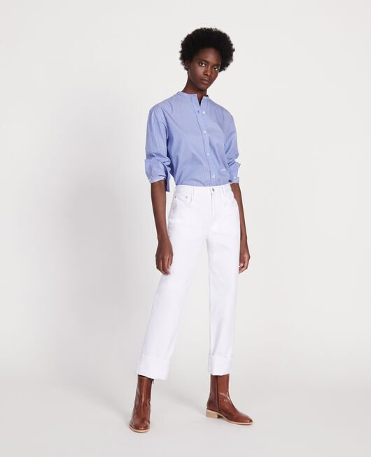 Straight jeans OPTICAL WHITE