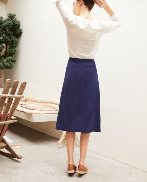 Comptoir des Cotonniers - Skirt with slit - 4