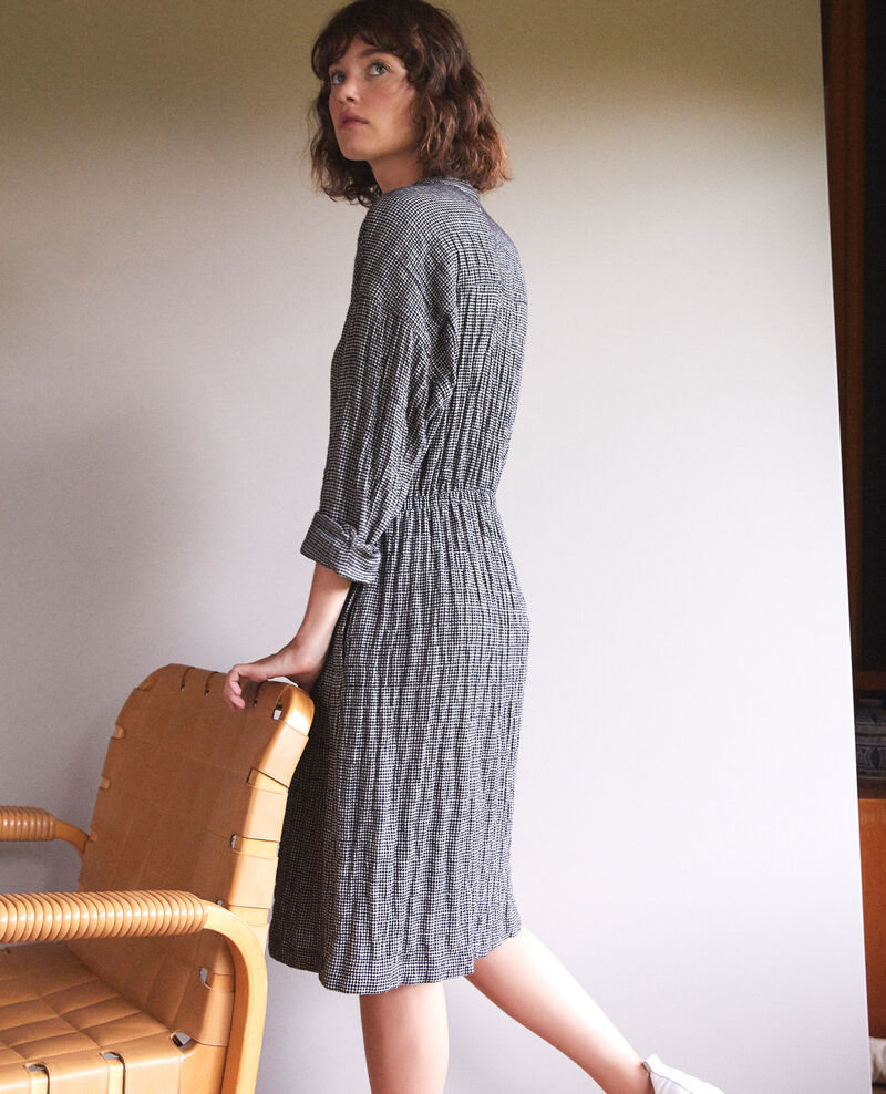 Dress with elasticated waistband Grey Gresil