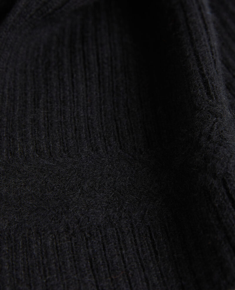 Cashmere scarf Black beauty Miosa
