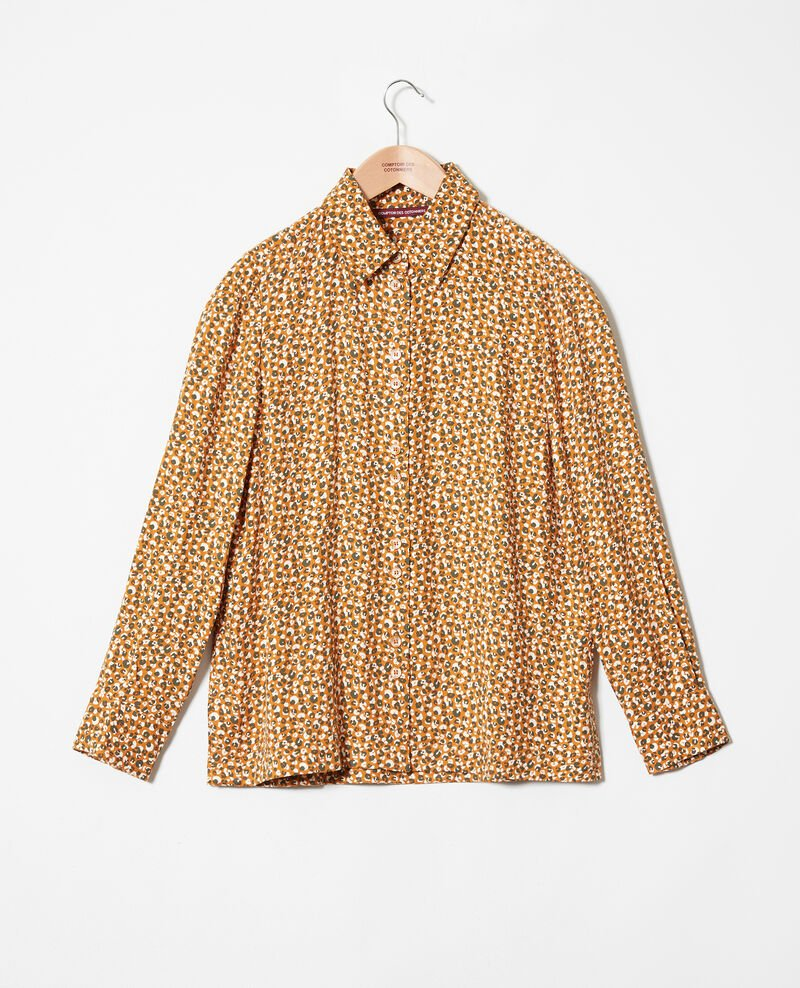 Printed shirt Leopard thai curry Jumulus