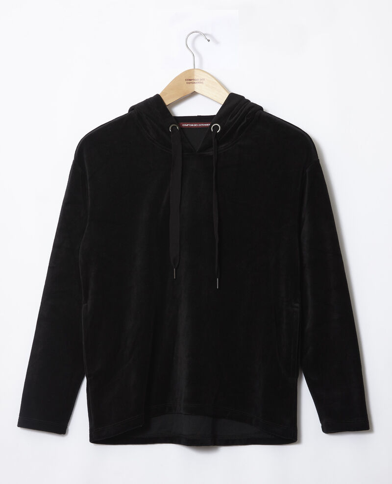 Hooded sweater Black Ginou