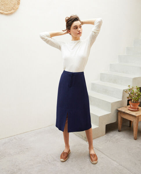 Comptoir des Cotonniers - Skirt with slit - 1