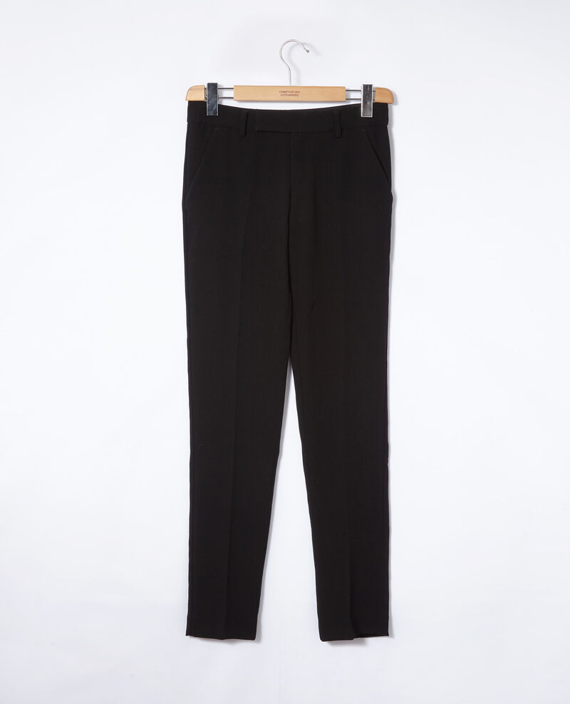 Suit-style trousers Black Gersende