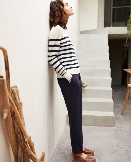 Carrot trousers NAVY
