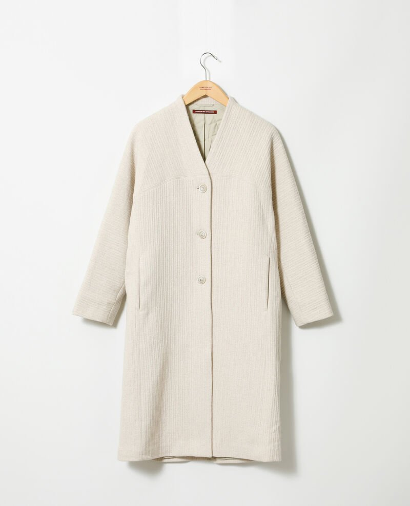 Loose coat Off white Giovanna