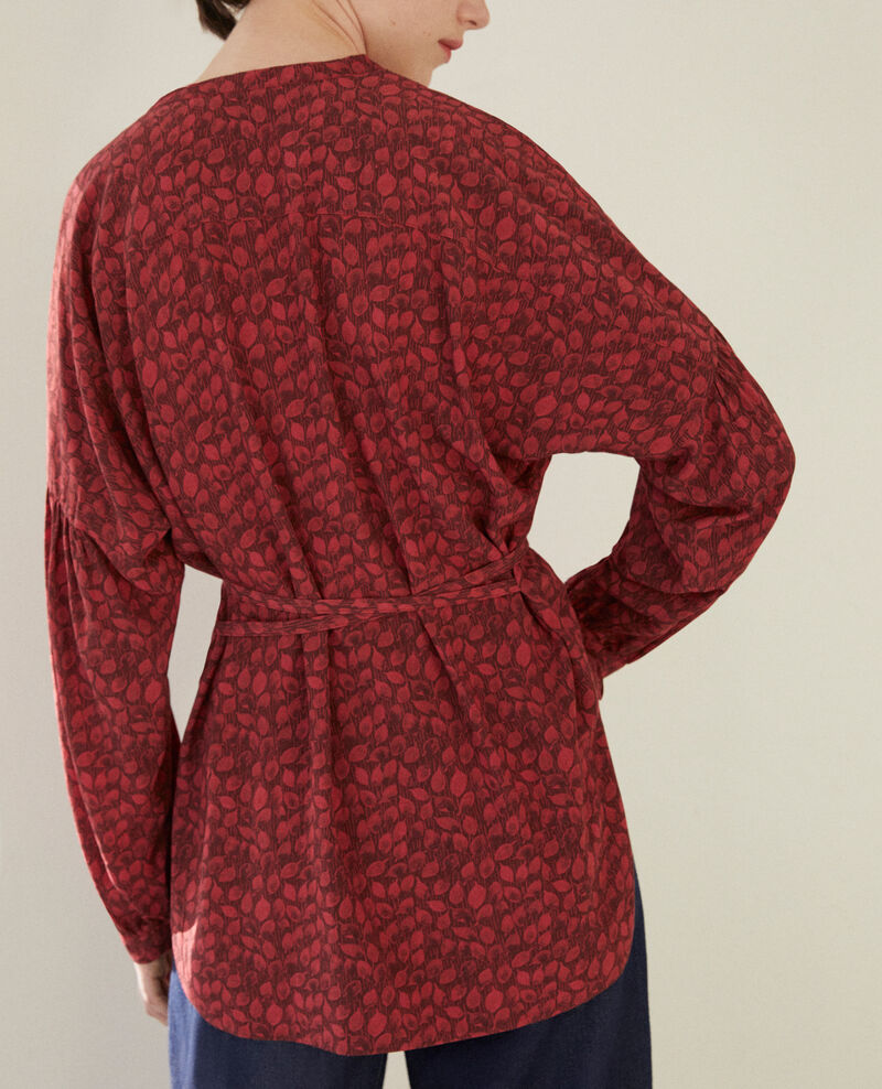 Loose blouse Ld rio red Garuya