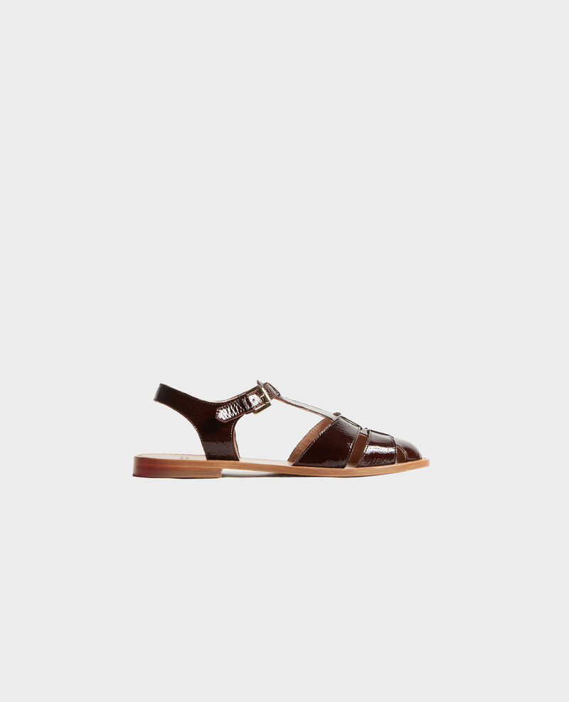 Patent leather sandals Mole Lapiaz