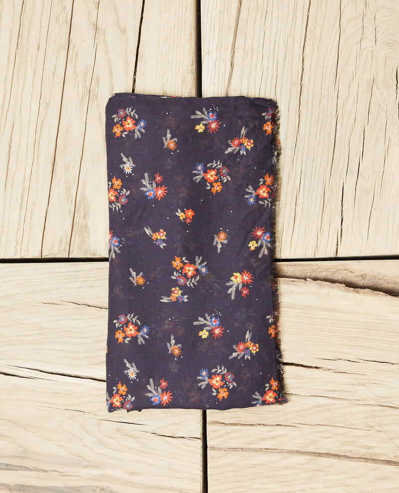 Printed scarf Deep well Jouquet