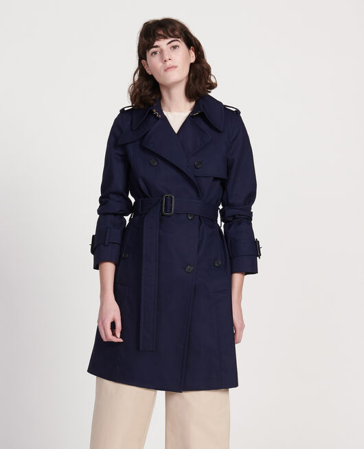 Timeless trench coat MARITIME BLUE