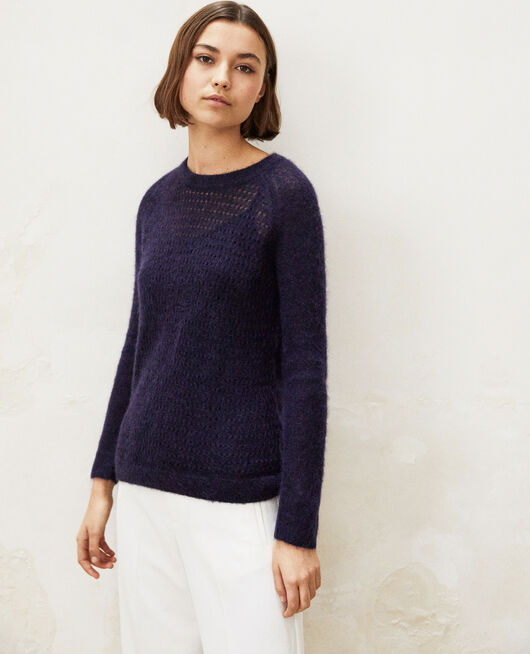 Novelty knit jumper  INK NAVY