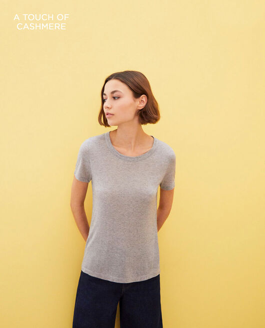 Classic t-shirt HEATHER GREY