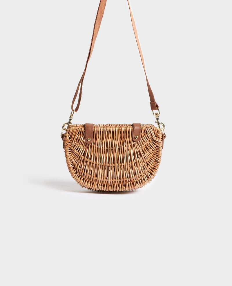 MIMI - Mini wicker basket Pumpkin spice Nuba